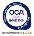Empresa certificada en ISO 27001